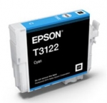 Epson UltraChrome Hi-Gloss2 T312 Cyan Ink Cartridge