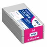 Epson DURABrite Ultra SJIC22P(M) Magenta Pigment Ink Cartridge for TM-C3500