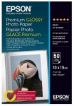 Epson S041867 Premium Glossy 4x6 255gsm Photo Paper - 50 Sheets
