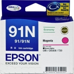Epson DURABrite Ultra 91N Magenta Ink Cartridge