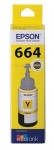 Epson EcoTank T664 Yellow Ink Bottle