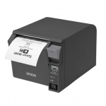 Epson TM-T70II V2 Compact and Reliable USB & Ethernet Receipt Printer - Black