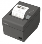 Epson TM-T82II Serial & USB Thermal Direct Receipt Printer- Black