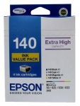Epson DURABrite Ultra 140 MYCB Value Pack Ink Cartridge