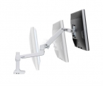 Ergotron LX Desk Mount LCD Monitor Arm - White