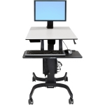 Ergotron WorkFit-C Sit-Stand Workstation Computer Stand