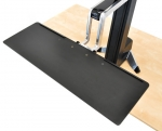 Ergotron WorkFit-S Height-Adjustable Single LD with Worksurface+ Display Stand