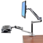 Ergotron WorkFit-LX Desk Mount for Flat Panel Display, Keyboard, Mouse