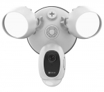 EZVIZ LC1C Two-in-One Smart Outdoor Security Solution - White