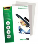 Fellowes A3 Gloss 100 Micron Laminating Pouches - 100 Pack