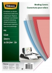 Fellowes A4 150 Micron Binding Covers Clear - 100 Pack