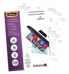Fellowes A4 Gloss 80 Micron Laminating Pouches - 100 Pack