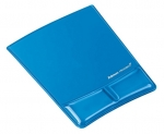 Fellowes Gel Wrist Support Mouse Pad - Blue