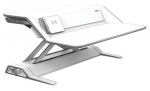 Fellowes Lotus DX Sit Stand Workstation - White