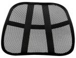 Fellowes Office Suites Mesh Back Support - Black