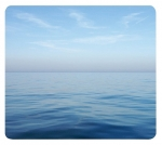 Fellowes Recycled Optical Mouse Pad - Blue Ocean