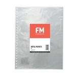 File Master 10 Pocket Refill for Refillable A4 Display Book