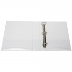 File Master A4 PVC Insert Cover 3/50 Ring Binder White