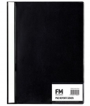 File Master A4 Presentation Report Cover Folder Black