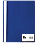 File Master A4 Presentation Report Cover Folder Blue