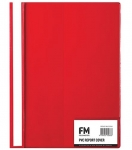 File Master A4 Presentation Report Cover Folder Red