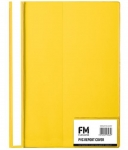File Master A4 Presentation Report Cover Folder Yellow
