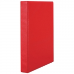 File Master A4 PVC 2/26 Ring Binder - Red