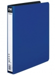 File Master A4 Trunkboard 2/26 Ring Binder Blue