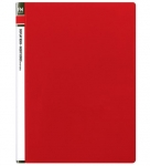 File Master 60 Pocket A4 Display Book - Red