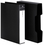 File Master 80 Pocket A4 Display Book - Black