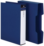 File Master 80 Pocket A4 Display Book - Blue