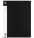 File Master 40 Pocket A4 Display Book - Black