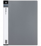 File Master 40 Pocket A4 Display Book - Grey
