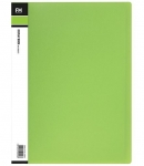 File Master 40 Pocket A4 Vivid Display Book - Lime