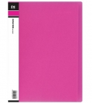 File Master 40 Pocket A4 Vivid Display Book - Pink