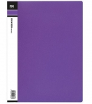 File Master 40 Pocket A4 Vivid Display Book - Purple