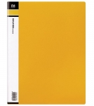 File Master 40 Pocket A4 Display Book - Yellow