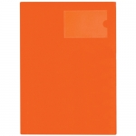 File Master 3 Pocket A4 Presentation Folder - Burnt Orange