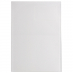 File Master 3 Pocket A4 Presentation Folder - Clear
