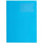 File Master 3 Pocket A4 Presentation Folder - Ice Blue