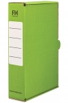File Master Foolscap Storage Box Carton Green