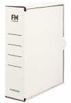 File Master A4 Storage Box Carton White