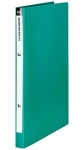 File Master A4 Polypropylene Mini Ring Binder Green