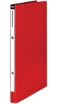 File Master A4 Polypropylene Mini Ring Binder Red