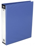 File Master A4 PVC Insert Cover 2/26 Ring Binder Light Blue