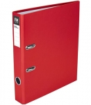 File Master A4 Radofile Mini Lever Arch File Red