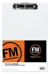 File Master Clear Transparent Plastic Clipboard