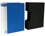 File Master 100 Pocket A4 Display Book Blue