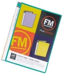 File Master 40 Pocket A4 Display Book with Insert Cover - Green