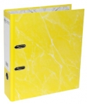 File Master A4 Laminated Lever Arch File Yellow